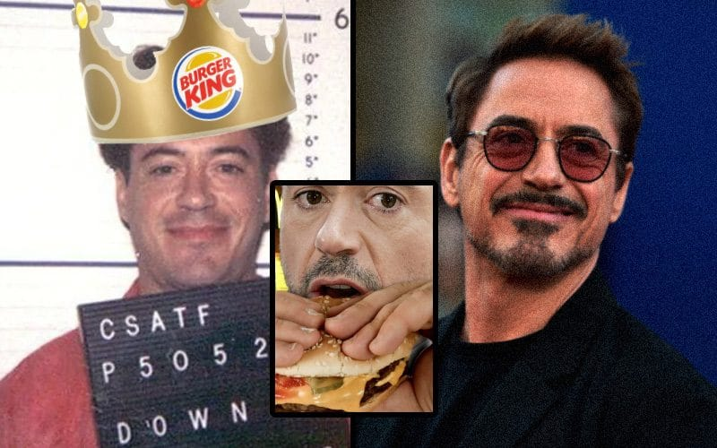 Robert Downey Jr talks about how he used Burger King to quit taking drugs.